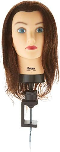 New Celebrity Debra Cosmetology Human Hair Manikin online shopping - Thetopbrandsstyle #humanhairextensions