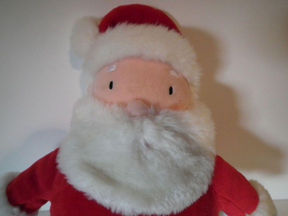 hallmark santa clause plush 12 12 push button says ho ho ho merry christmas - Santa Hohoho 2