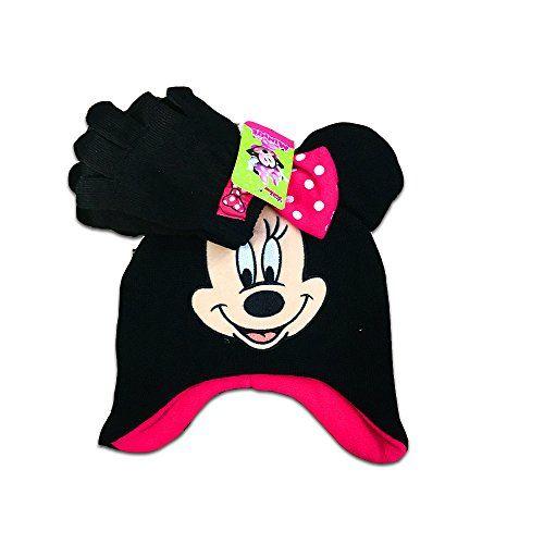 01bc967db97 Junior Minnie Mouse Girls 2-Piece Knit Hat Beanie
