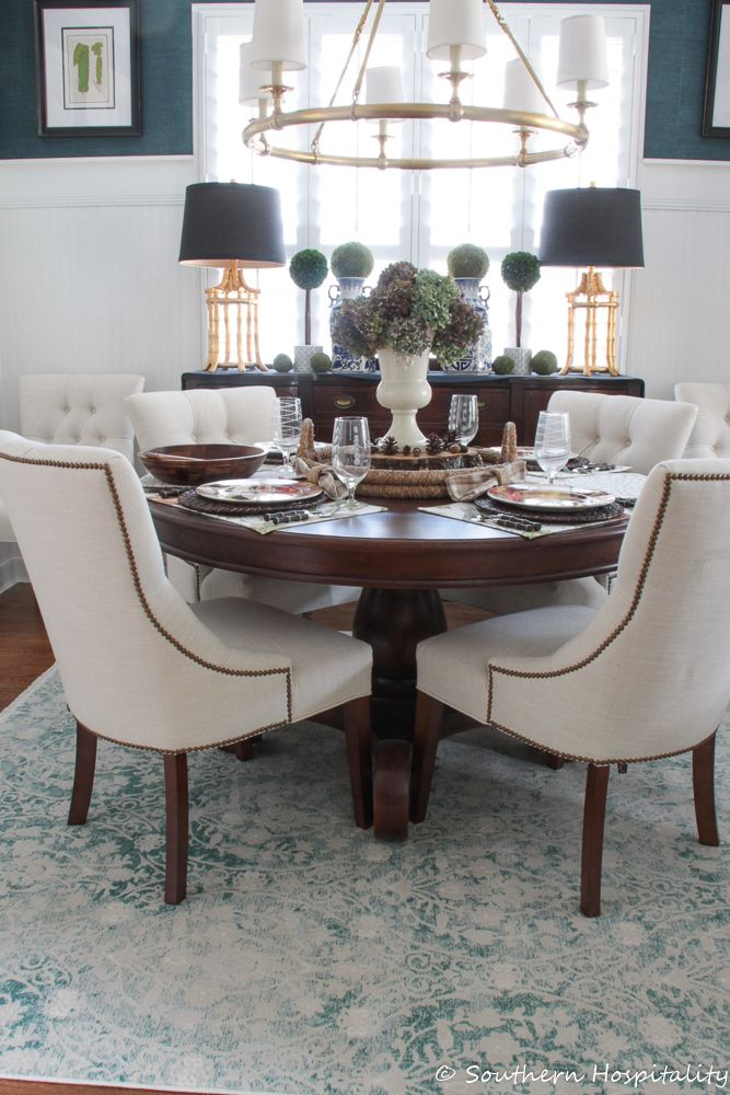 Dining Room Rug Update with eSale Rugs