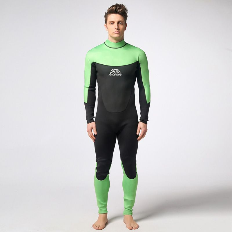 1fe081216b Spearfishing Piece Wetsuit thickened 3MM Neoprene Scuba Diving Suit Surfing  Wetsuits winter swimming Triathlon Anti-