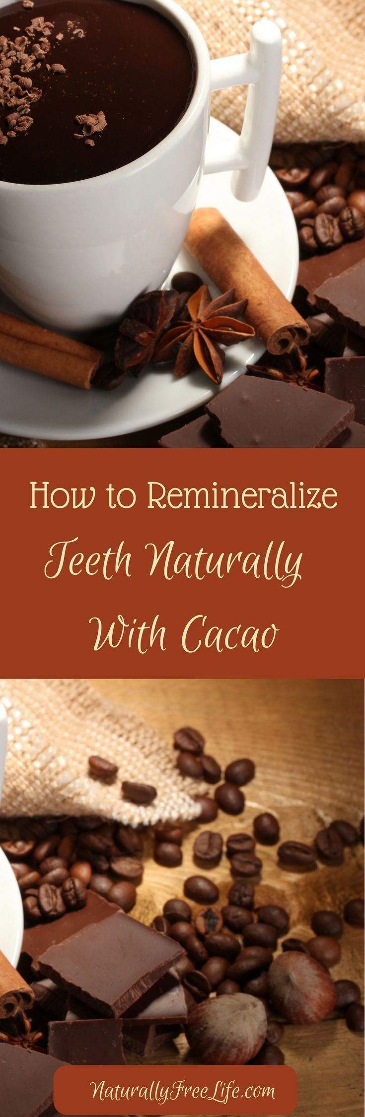 How to remineralize teeth naturally with chocolate