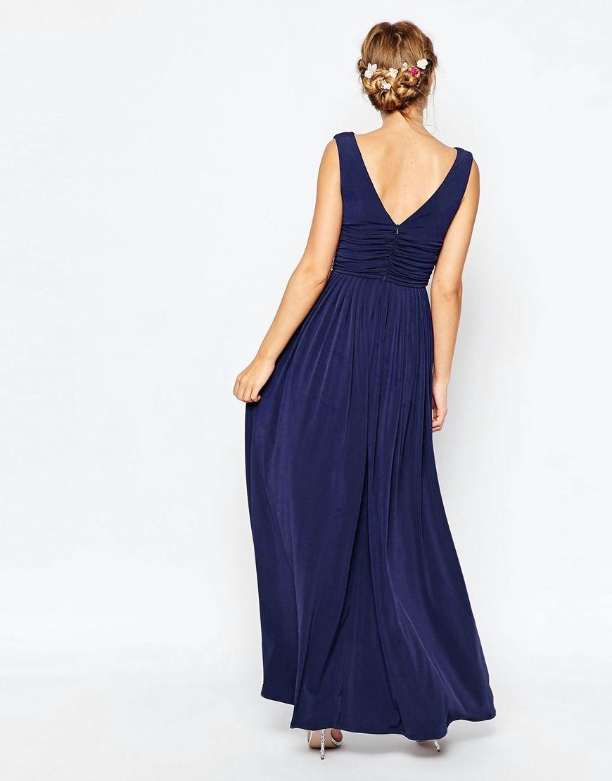 Image 2 - ASOS - WEDDING - Maxi robe à encolure bénitier