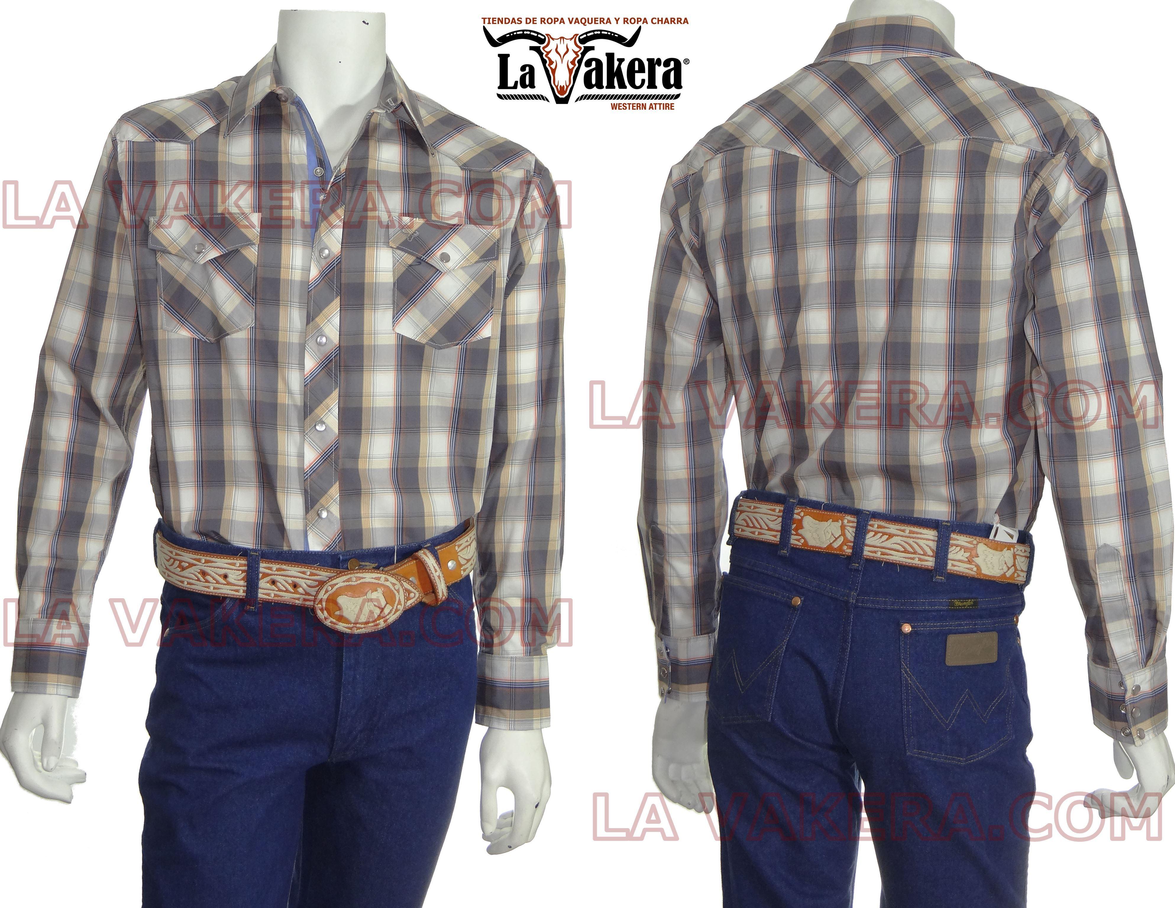 cf4da64747 Camisa Vaquera - Rodeo Carte - La Vakera - Ropa Vaquera