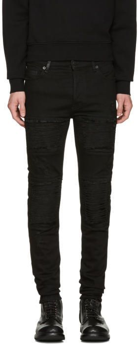 Black Gil Biker Jeans Marcelo Burlon Multi Coloured Free Shipping View Extremely Sale Online Sale Looking For 5sc8PyEKT