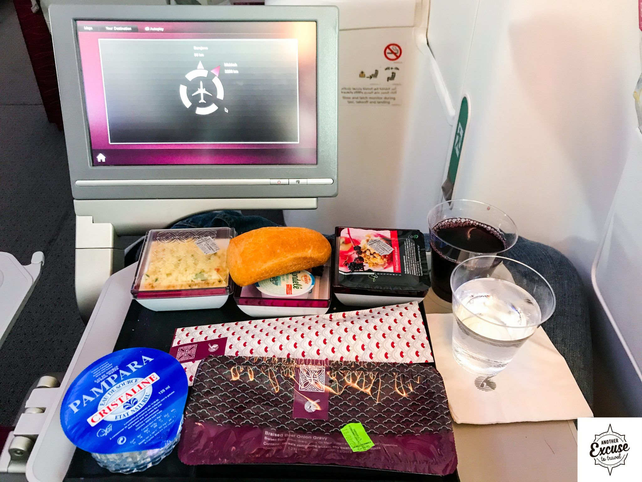 Qatar Airways Economy Nice Doha Boeing 787 Dreamliner