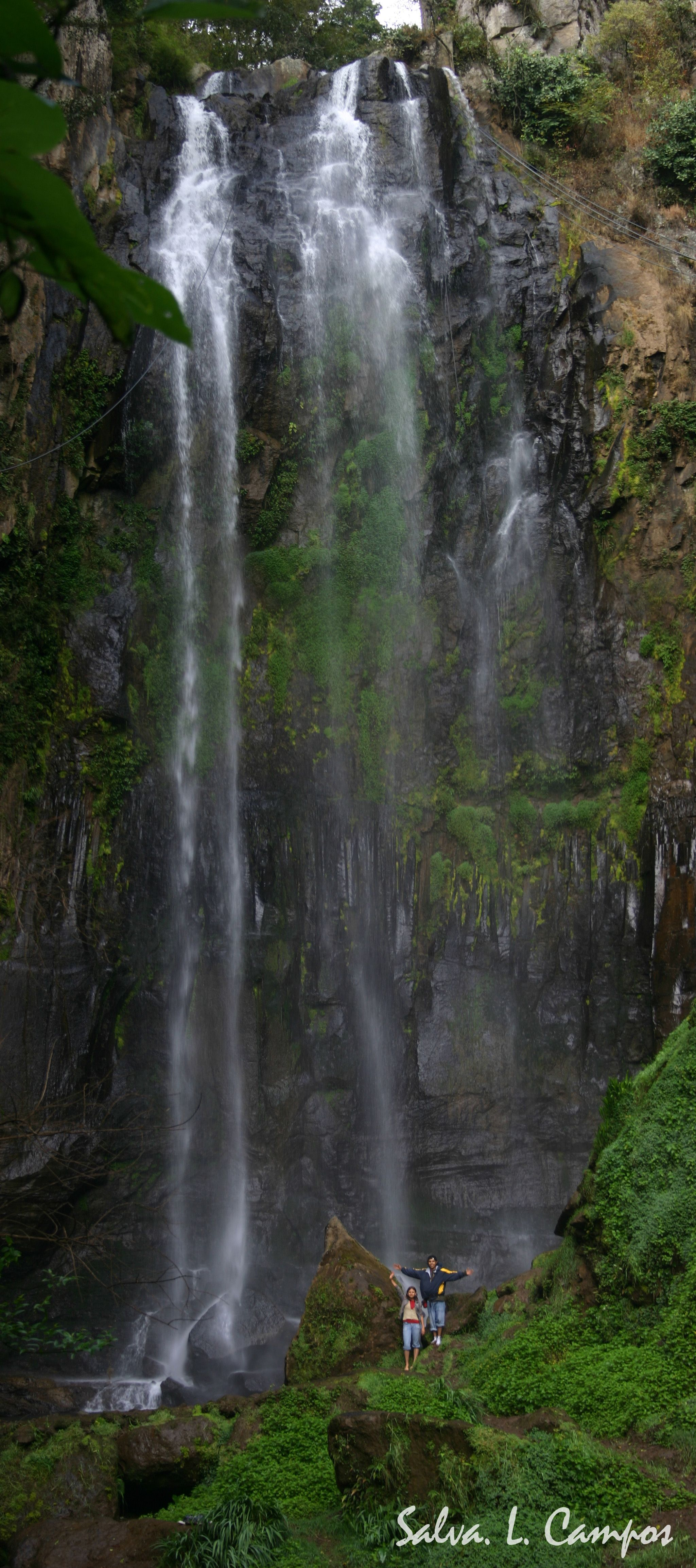Cascada en Finca