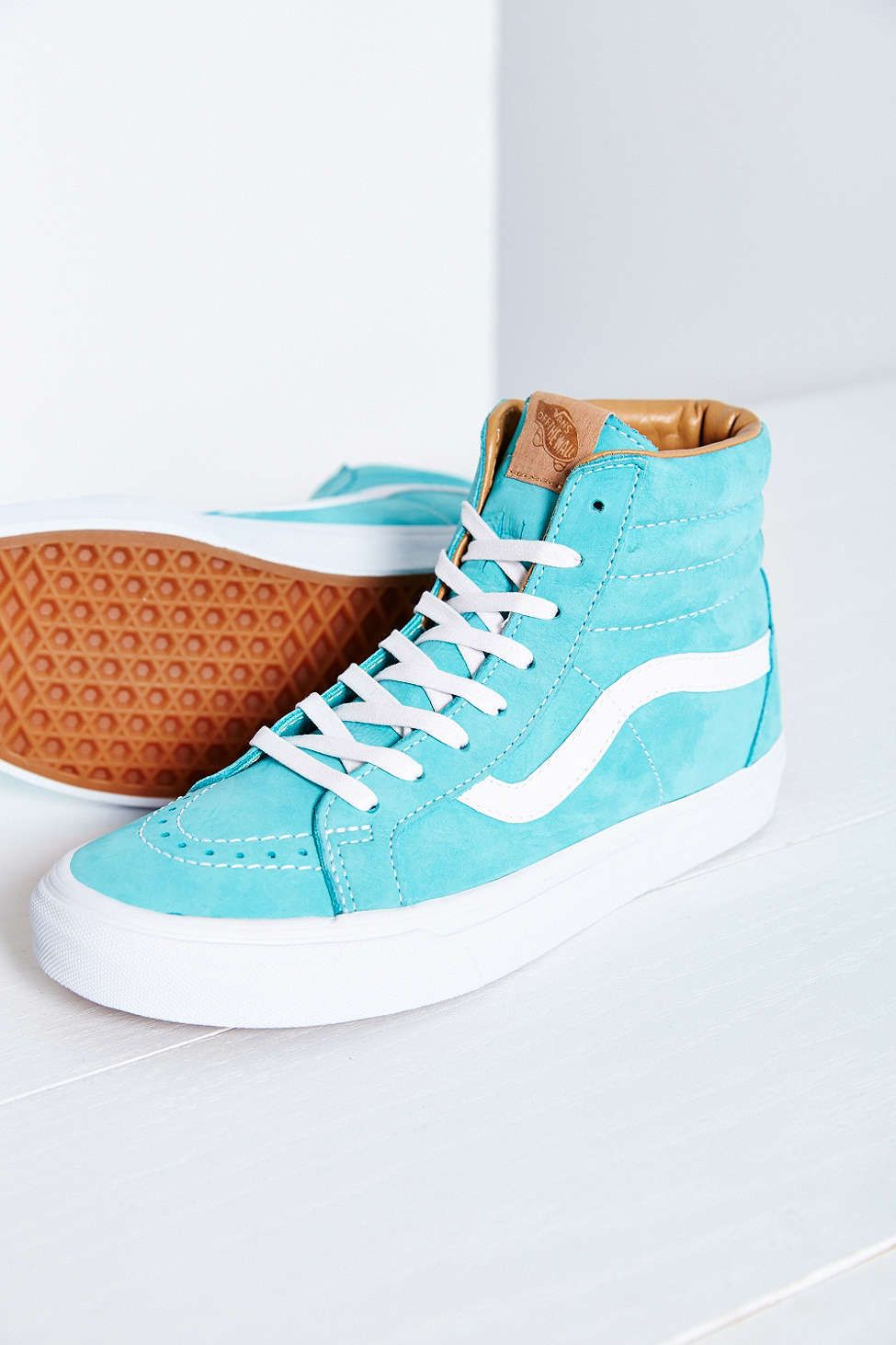 Vans — California SK8 Buttersoft Reissue High Top Sneakers