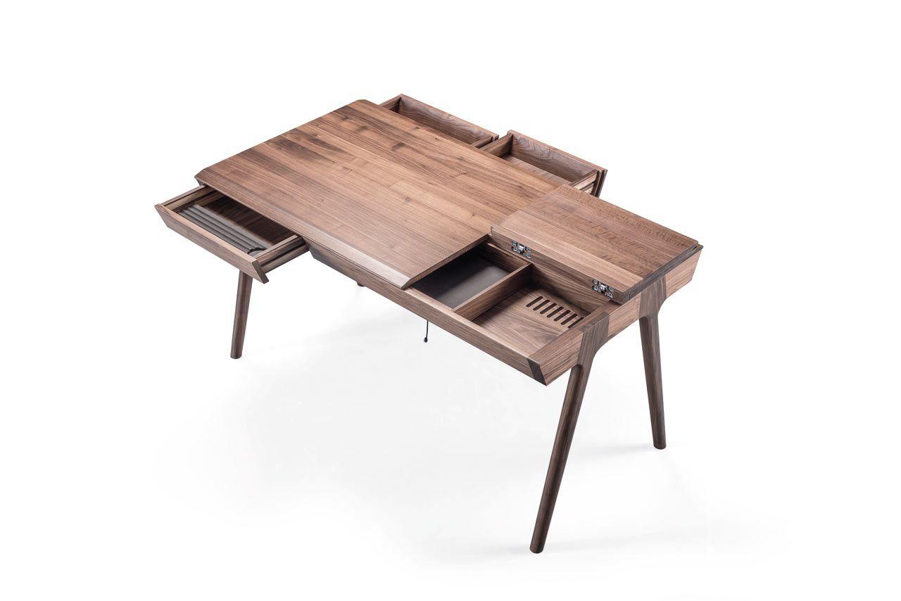 Goncalo Campos Metis Desk Wewood 5 Meuble Mobilier De Salon Bureau