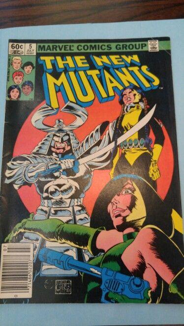 Free Domestic Shipping New Mutants #5 Marvel 1989