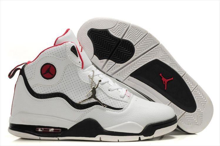 black white red air jordans tc mens shoes for sale