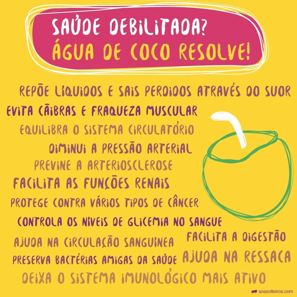 13 Motivos Para Tomar Agua De Coco Todos Os Dias Pressao