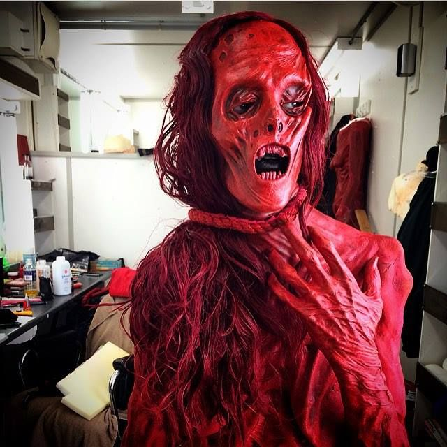 Crimson Peak (2015) Javier Botet as the Crawling Ghost, makeup by - halloween horror costume ideas