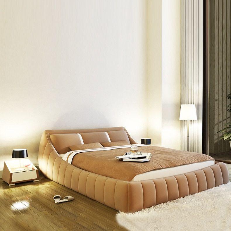 Modern Soft Bed Bedroom Fruniture Leather Soft 1 8 Kingsize Bed Factory Modern Bedroom Set Bedroom Sets Bedroom Interior
