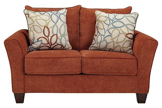 Rust Colored Sofa Madison Home Chesterfield Linen Tufted Scroll Arm Rust Colored Thesofa