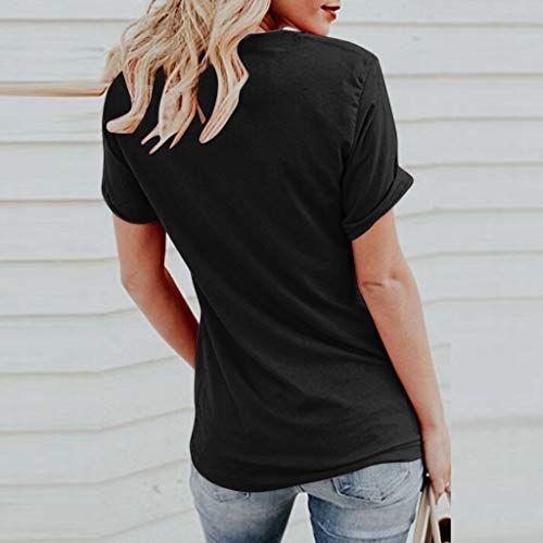 Gocheaper women summer letter printing short sleeve top tee graphic cute t-shirt-dog mom