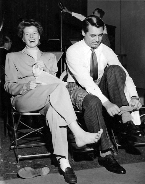 Dynamic Duos in Classic Film: Katharine Hepburn and Cary Grant - Margaret Perry Designs
