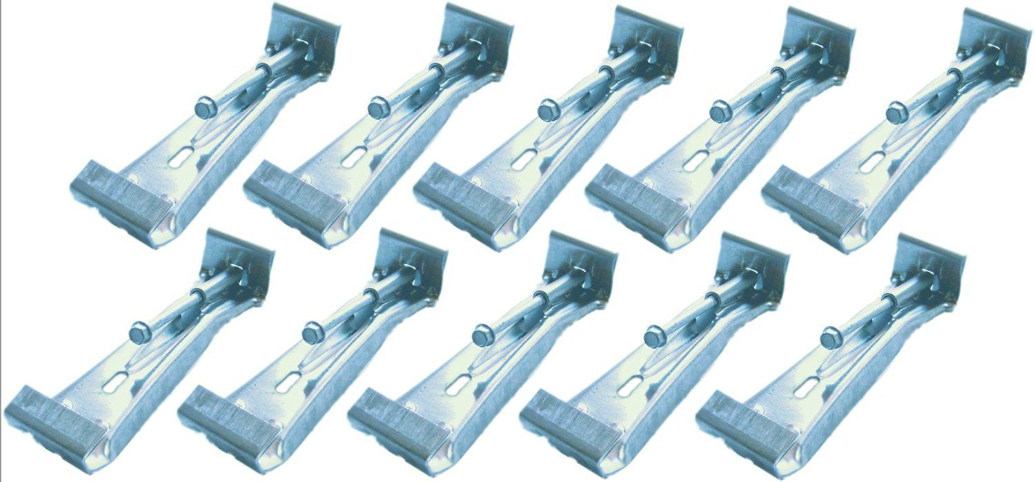 Quick Screw 5 10 Pack Premium Hidden Rain Gutter Bracket Hook Hangers With Screw Clip Style Click Image For More Details Rain Gutters Gutter Bracket