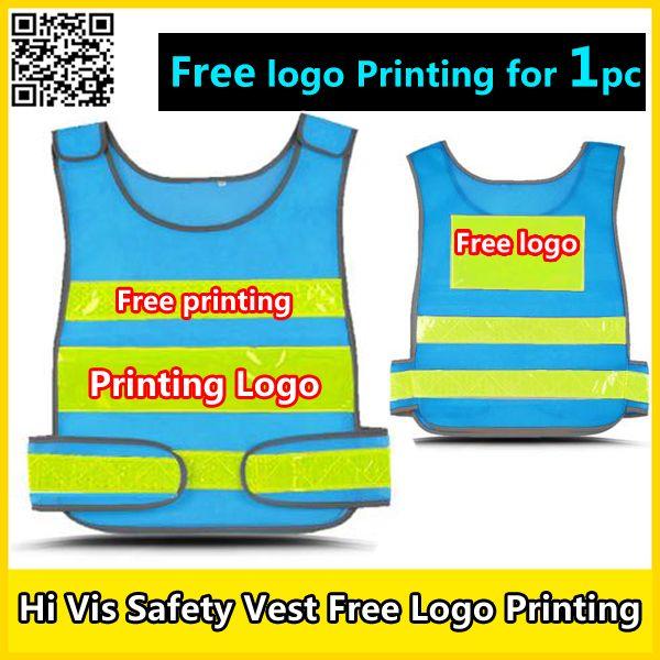 Spardwear Free Company Logo Printing Mesh Vest Reflective