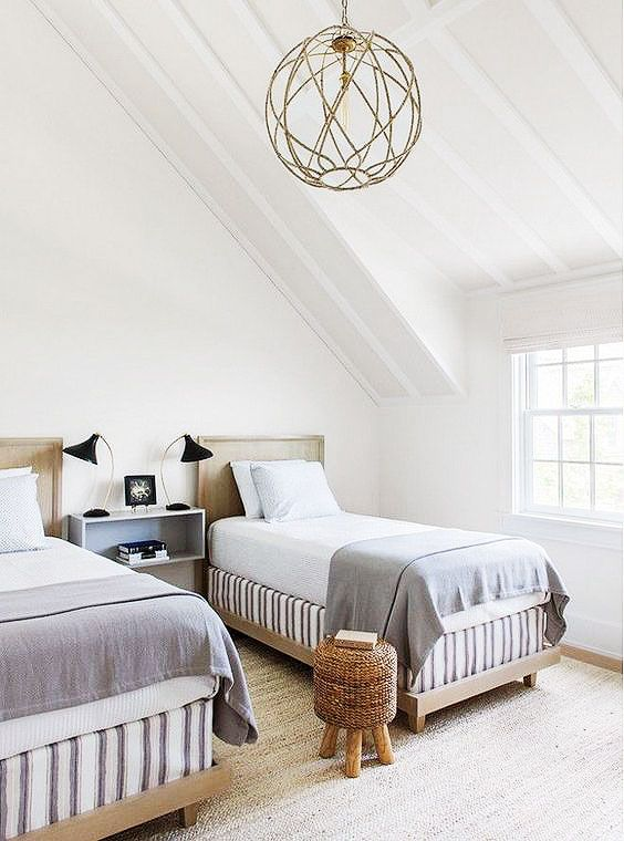 Seeing Double: Shop Sophisticated Twin Beds | Bedrooms ...