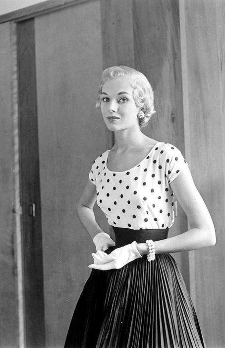 Женщины 40-х и 50-х годов на фото Нины Лин (37 фото ...