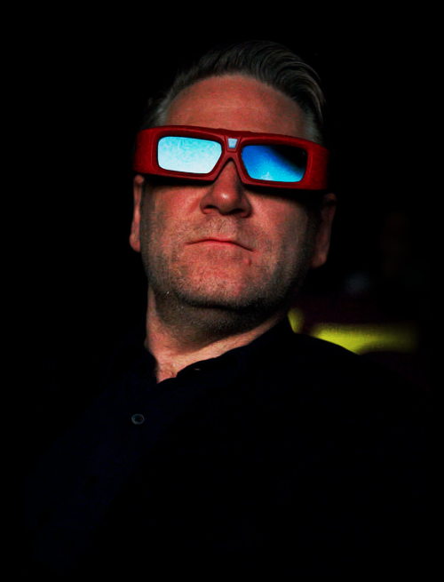 Kenneth Branagh, watching the trailer of Thor.