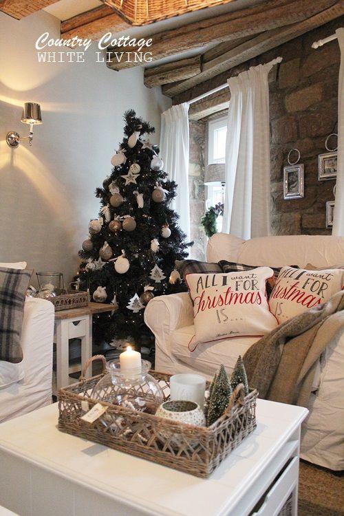 Blog ber lifestyle dekoration autorin von belle blanc mama von noel einfach alles sch ne im - Weihnachtliches dekorieren ...