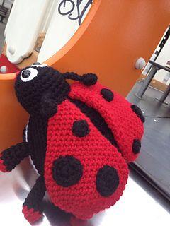 Free Amigurumi Ladybug Keychain Crochet Pattern | Crochet patterns ... | 320x240