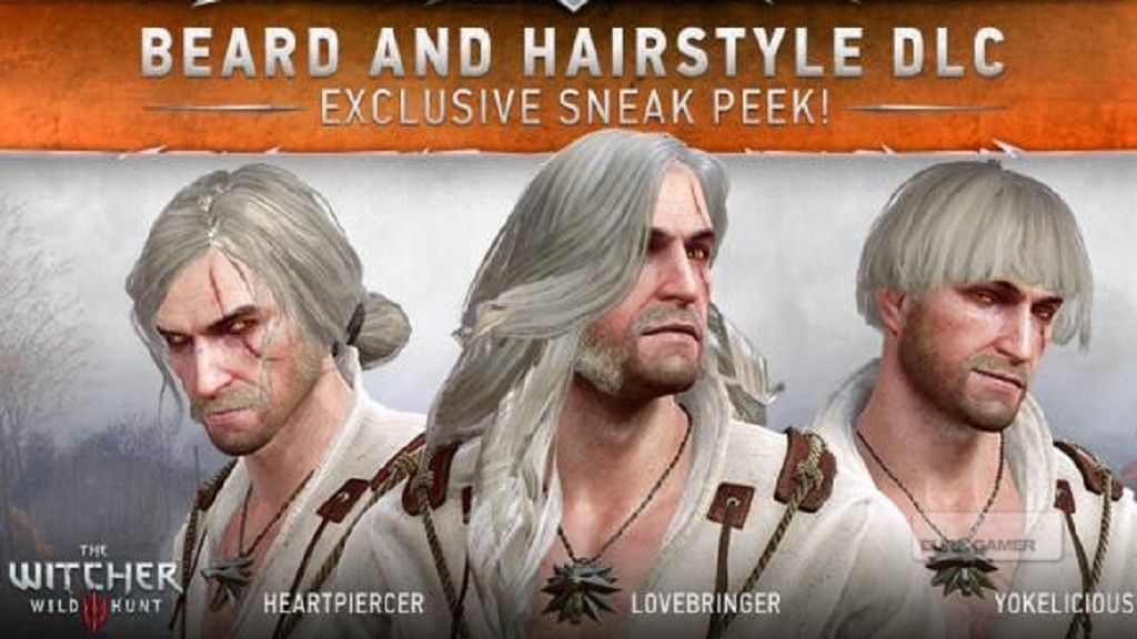 Schon Witcher 3 Frisuren The Witcher Beard Hairstyle Wild Hunt
