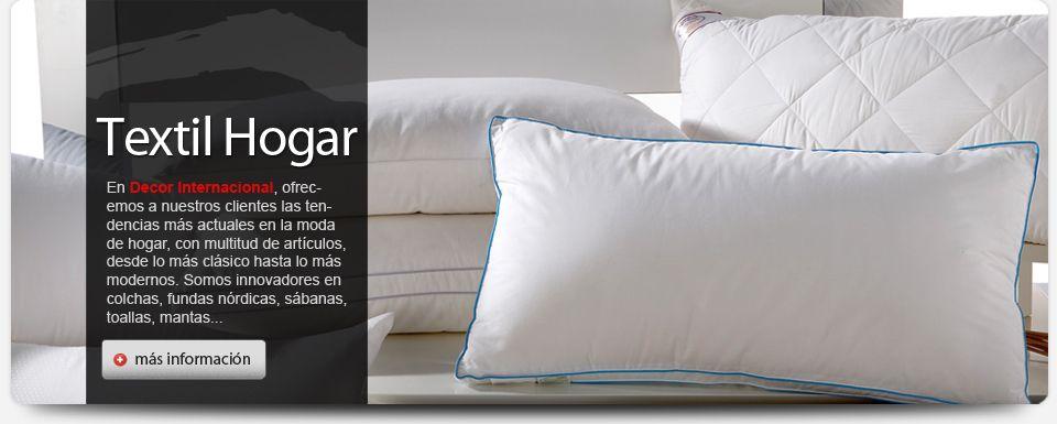 En Decor Internacional encontrará la última moda en ropa de hogar, independientemente del estilo que sea. Trabajamos las medidas de camas disponibles en el mercado: 90, 105, 135, 150, 160, 180, 200.