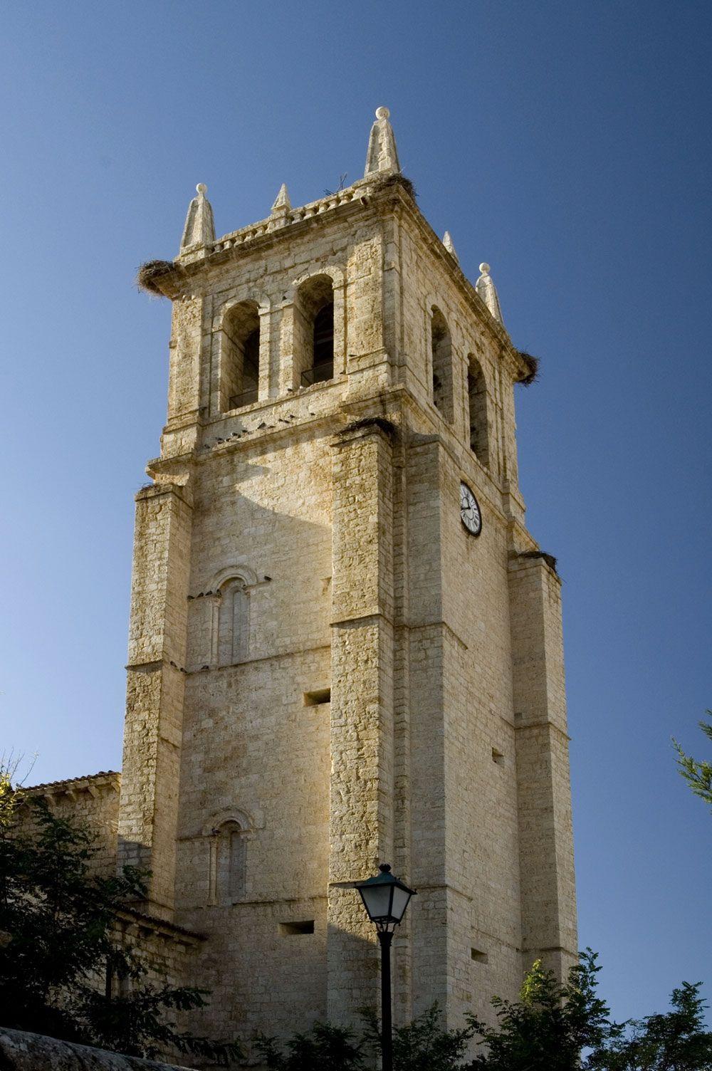 Iglesia de Villamuriel de Cerrato, Palencia.
