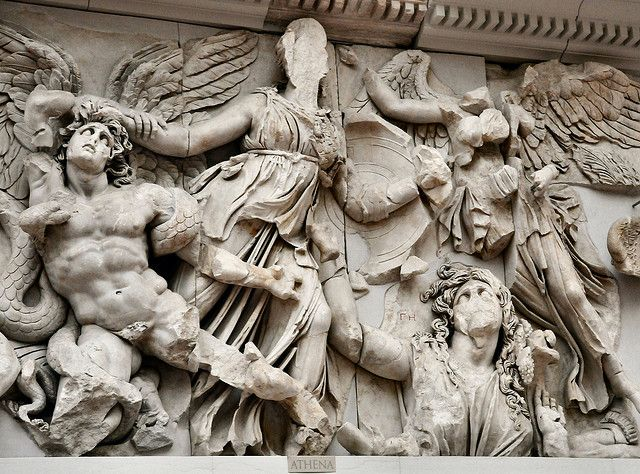 Athena At Pergamon Museum Berlin Germany Pergamon Museum Pergamon Hellenistic Art