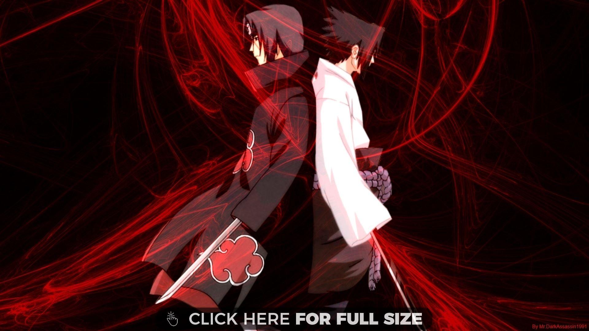 Sasuke Vs Itachi Naruto Desktop Wallpapers