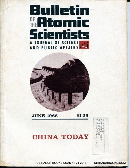 Resultado de imagen para bulletin of Atomic Scientists