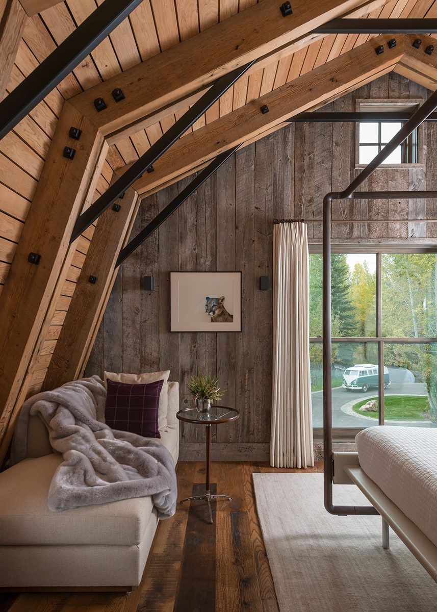 A Guest Barn in Jackson Wyoming Fuses