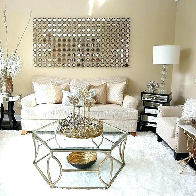 Image Result For Gold Accent Living Room Gold Living Room Glam Living Room Modern Glam Living Room