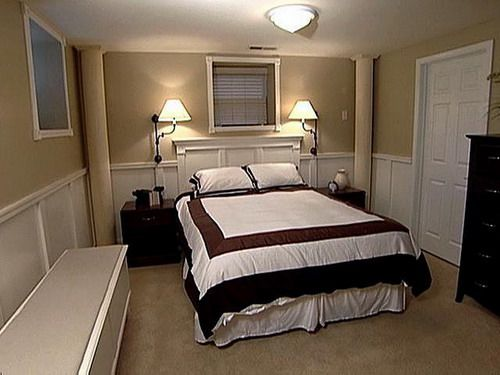 basement bedroom lighting ideas