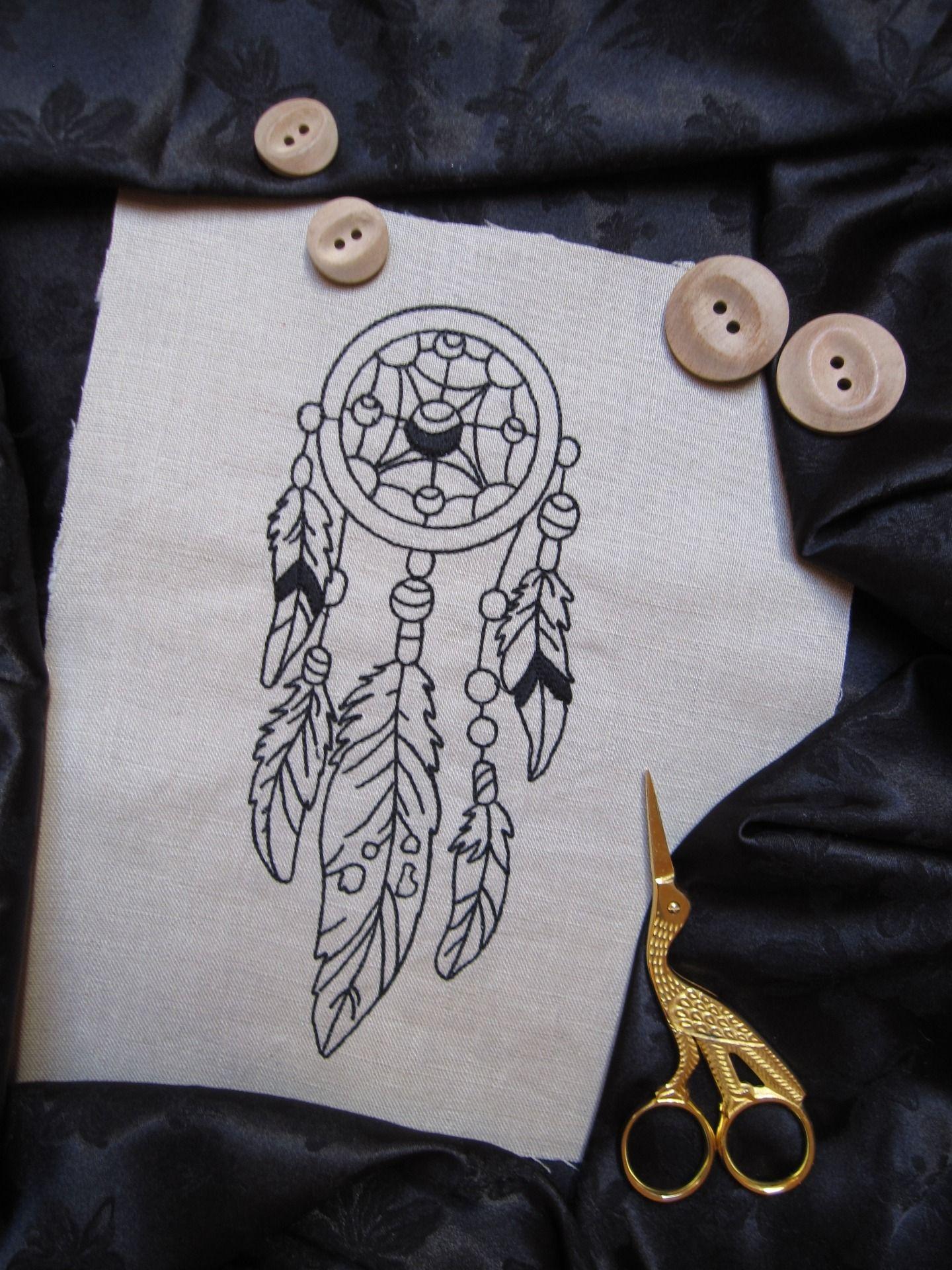 attrape reves tatouage pinterest collage illustration. Black Bedroom Furniture Sets. Home Design Ideas