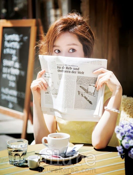 Han Ji-min // Allure Korea // July 2013