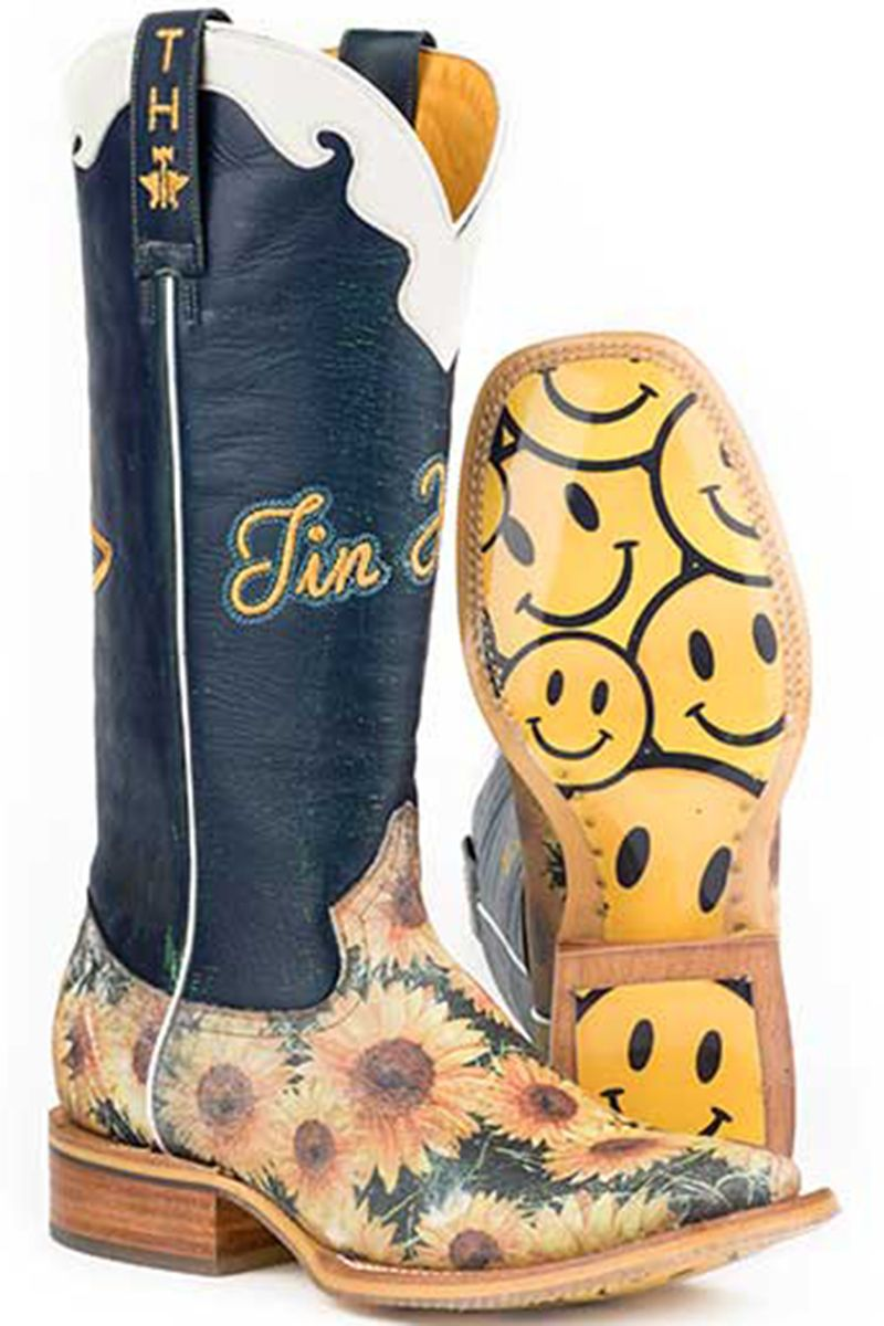 3e4c08eb9f1 Tin Haul Sunflower Women's Cowgirl Boots - HeadWest Outfitters ...