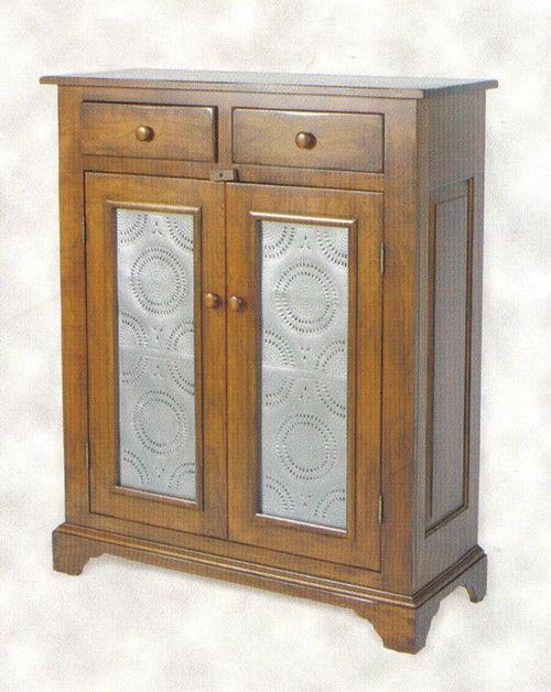 Amish Galloway Shaker Pie Safe With Tin Doors Pie Safe Door Furniture Amish Furniture