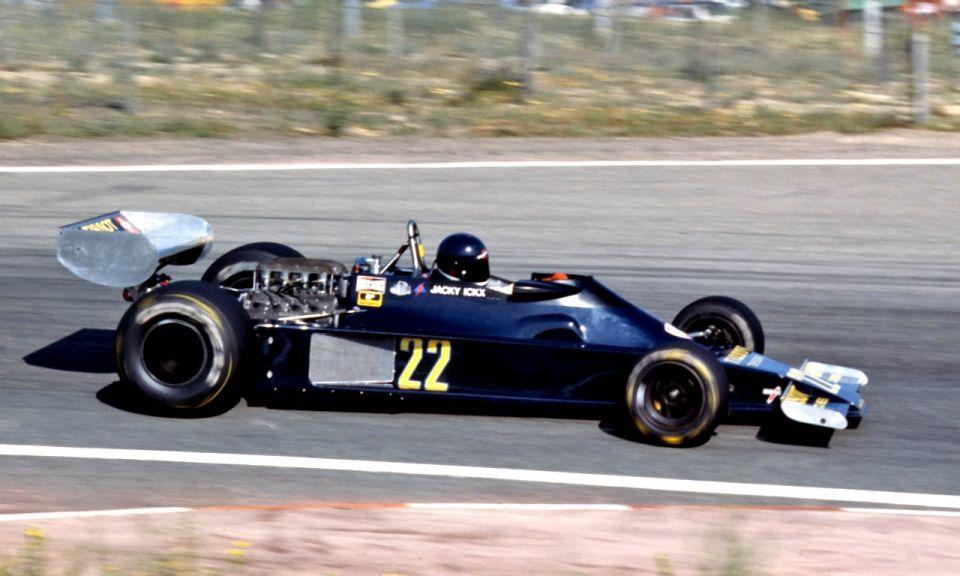 #pha.021156 Photo ENSIGN N177 JACKY ICKX GRAND PRIX F1 ZOLDER 1978 Car Auto