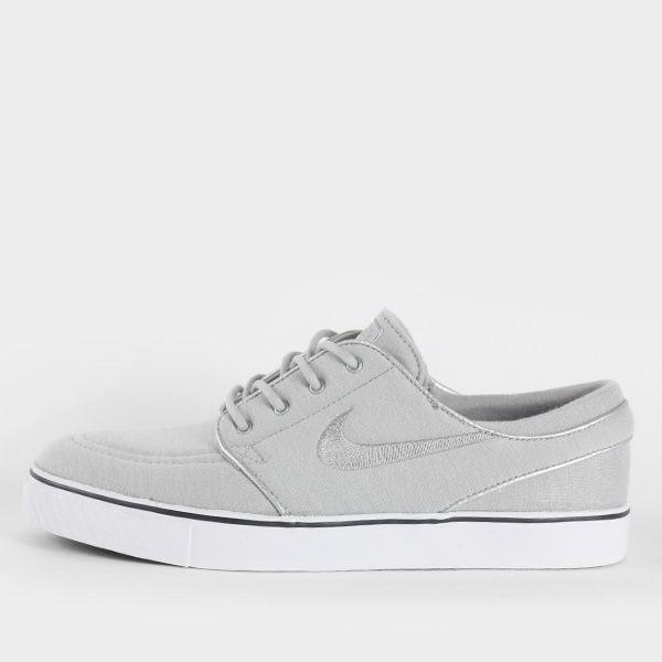 Nike SB Stefan Janoski Premium, Metallic Silver / Anthracite White