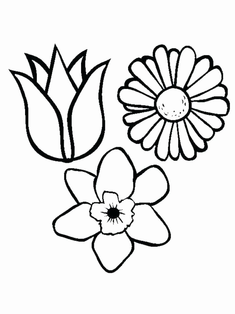 Flower Coloring Pages For Kids Pdf Flower Coloring Sheets Spring Coloring Pages Coloring Pages Inspirational