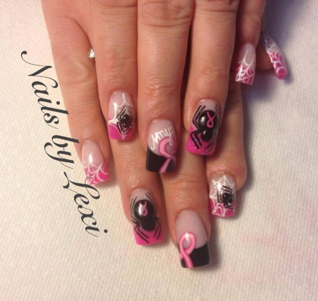 Acrylic Nails By Lexi Cancer Nails Nails Fancy Nails