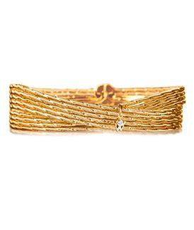 mode de premier ordre handicaps structurels taille 7 Brilliance of the Sun Duet Bracelet   shining jewels