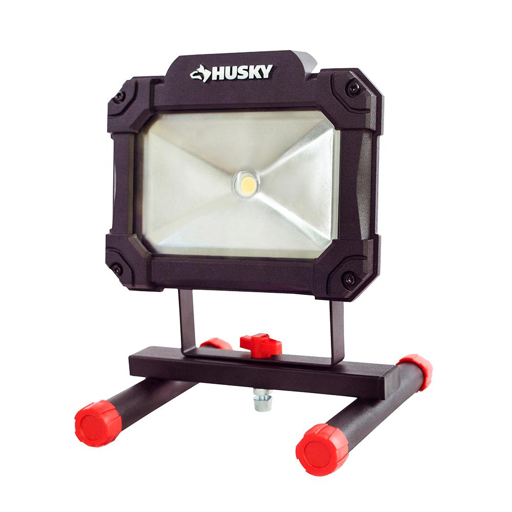 Husky 1500 Lumen Led Portable Worklight Portable Led Lights Portable Led Led Work Light