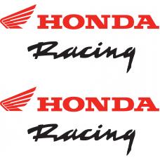 Honda Racing Stickers Wings Bikes Honda Racing Stickers