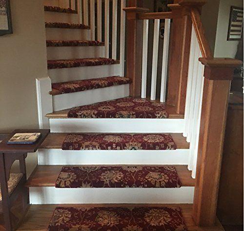 Best 8 Colors Handmade Wool True Bullnose Stair Tread Wools Of 400 x 300