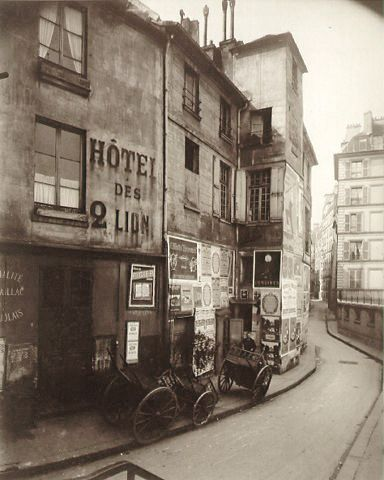 Eugene Atget...such a haunting work of art.